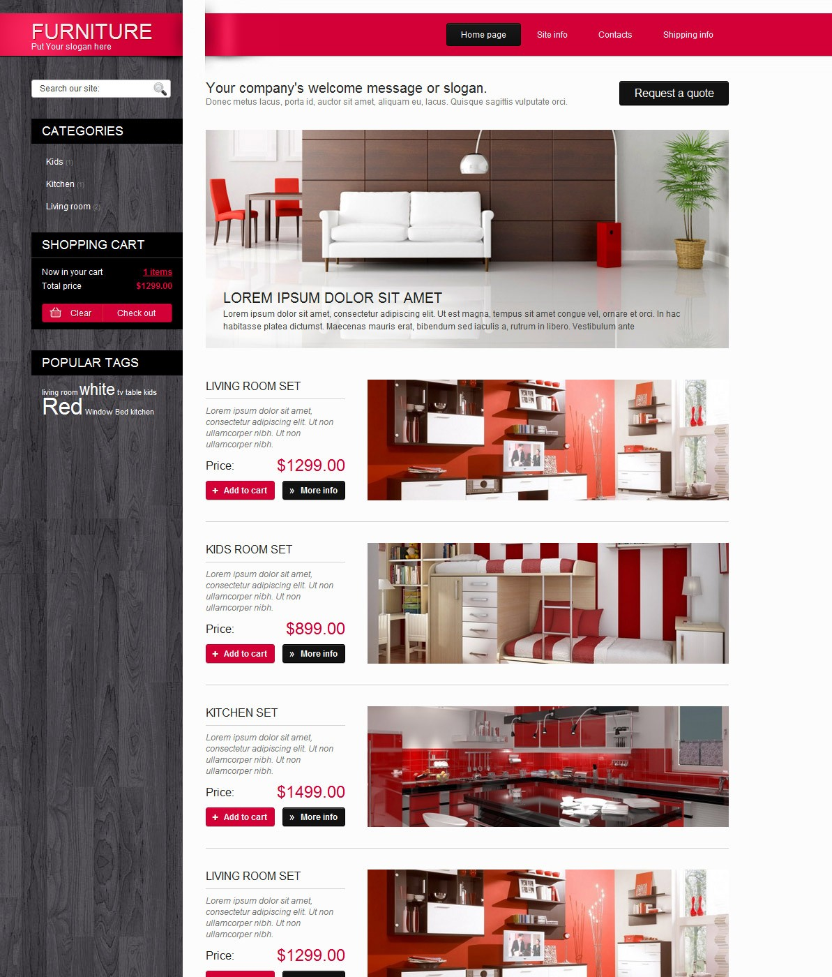Шаблоны сайтов адаптивный дизайн